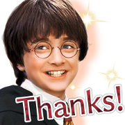 Everyday Magic! Harry Potter Sticker for LINE & WhatsApp | ZIP: GIF & PNG