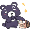 Free Excited Tumurin: Daily Life LINE sticker for WhatsApp