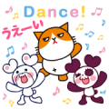 Free Futenyan × Kumapan LINE sticker for WhatsApp
