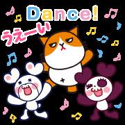 Free Futenyan × Kumapan LINE sticker for WhatsApp