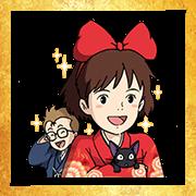 Free Ghibli New Year's Omikuji Stickers LINE sticker for WhatsApp