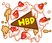 Free Godji Happy Life Playful Collection LINE sticker for WhatsApp