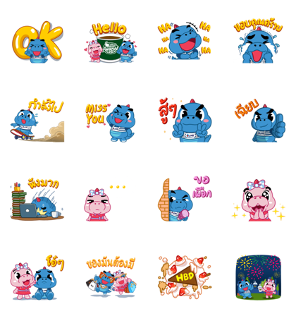 Download Godji Happy Life Playful Collection Sticker LINE and use on WhatsApp