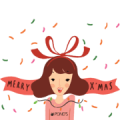 Happy Pond's Happy New Year Sticker for LINE & WhatsApp | ZIP: GIF & PNG