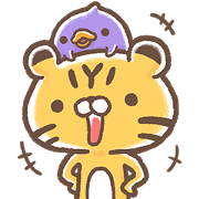 Free I'm A-Hoo 2 LINE sticker for WhatsApp