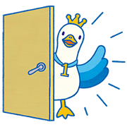 Introducing Ichiban Duck from Aflac Sticker for LINE & WhatsApp | ZIP: GIF & PNG