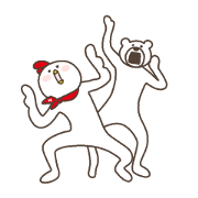 Free KETAKUMA × Hondy LINE sticker for WhatsApp