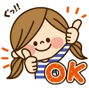 Free Kawashufu × Wowma! LINE sticker for WhatsApp