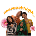 Free Keluarga Cemara LINE sticker for WhatsApp