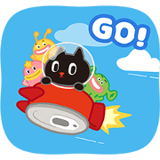 Kuroro - Space Explorer's Daily Life Sticker for LINE & WhatsApp | ZIP: GIF & PNG