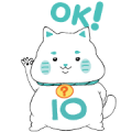 LINE 10?10 Stickers Vol. 1