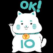 Free LINE 10?10 Stickers Vol. 1 LINE sticker for WhatsApp