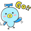 Free LINE TRAVEL jp's Tavino LINE sticker for WhatsApp