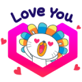 Free Laz Shopping Festival LINE sticker for WhatsApp