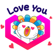 Free Laz Shopping Festival LINE sticker for WhatsApp