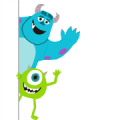 Free Monsters, Inc. (October Special) LINE sticker for WhatsApp