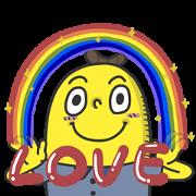 Free Mr. Banana: Cute Version LINE sticker for WhatsApp