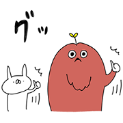 Mukku × USAGI TEIKOKU Sticker for LINE & WhatsApp | ZIP: GIF & PNG
