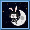 Mushrooman Moon Stickers
