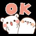 NEWS×Vulgar Bear×Stinging Tongue Seal Sticker for LINE & WhatsApp | ZIP: GIF & PNG