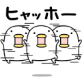 Free Noisy Chicken × Honda LINE sticker for WhatsApp
