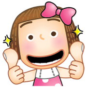 OB Design × Sunny Pli Sticker for LINE & WhatsApp | ZIP: GIF & PNG