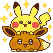 Free Pokémon Yurutto LINE sticker for WhatsApp