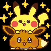 Free Pokémon Yurutto LINE sticker for WhatsApp