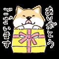 Shibanban × RICE FORCE Sticker for LINE & WhatsApp | ZIP: GIF & PNG