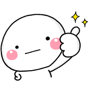 Free Shiromaru × Finess LINE sticker for WhatsApp