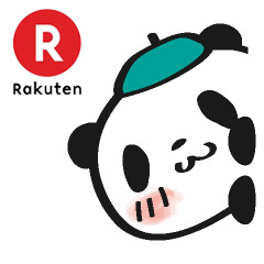 Free Shopping Panda – Rakuten LINE sticker for WhatsApp