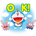 Suntory Doraemon the Movie 2019 Stickers Sticker for LINE & WhatsApp | ZIP: GIF & PNG