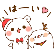 Vulgar Bear × Stinging Seal × 24/7 Sticker for LINE & WhatsApp | ZIP: GIF & PNG