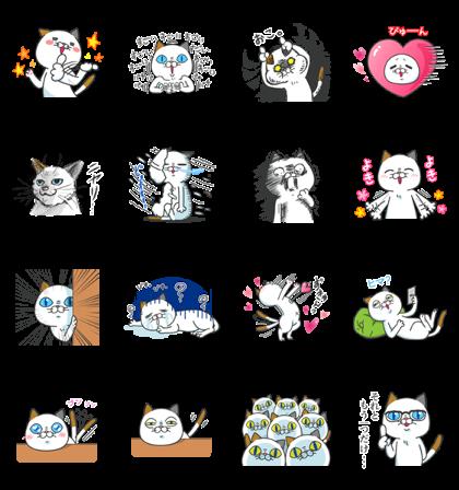 Download Yoshiko Tamagawa: 16th Free Set! Sticker LINE and use on WhatsApp