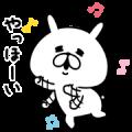 Free Yuru Usagi LINE sticker for WhatsApp