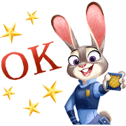 Free Zootopia (Special Event) LINE sticker for WhatsApp