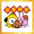 BT21 CNY Stickers (2019)