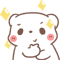 BearPlease Animated: Rainy Day Sticker for LINE & WhatsApp | ZIP: GIF & PNG