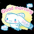 Cinnamoroll: Watercolor Wonder Sticker for LINE & WhatsApp | ZIP: GIF & PNG