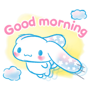 Cinnamoroll: Watercolor Wonder Sticker for LINE & WhatsApp | ZIP: GIF & PNG