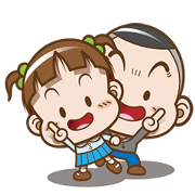 Free Cocoa & Onigiri Boy LINE sticker for WhatsApp