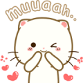 Free Cymo the Fluffy: A Day in the Life LINE sticker for WhatsApp