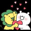 Girly Bear × Lion-chan