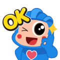 Free Hey Blo! the daily Life, Laugh, and Love LINE sticker for WhatsApp