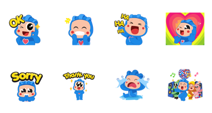 Download Hey Blo! the daily Life, Laugh, and Love Sticker LINE and use on WhatsApp