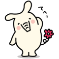 JA Bank Yorizo Sticker for LINE & WhatsApp | ZIP: GIF & PNG