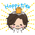 Jin × gudetama Animated Stickers