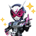 Free KAMEN RIDER ZI-O LINE sticker for WhatsApp