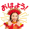 Free LINE PokoPoko × MomoclochanZ LINE sticker for WhatsApp