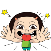 Free Noo-Hin in Love LINE sticker for WhatsApp